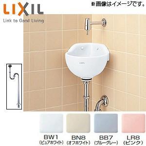 INAX 手洗器[隅付小形(壁付式)][壁給水][床排水]|jyusetu