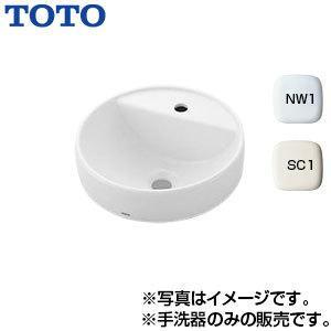 TOTO カウンター式手洗器単品[ベッセル式][ベッセル形手洗器][水栓取付穴径:φ35][中心1ヶ所] L652C|jyusetu