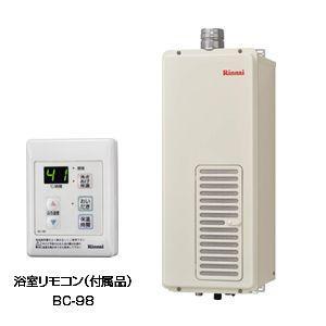 リンナイ ガスふろがま[本体+給排気トップセット][浴室外屋内設置][強制排気][上方排気][おいだき専用] RF-111SWF-set|jyusetu