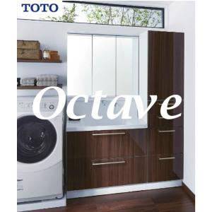 TOTO 洗面化粧台 オクターブ 一面鏡三面鏡 W900 幅90cm 49%OFF 現金決済でさらに値引き  送料無料|jyusetutanatekkus