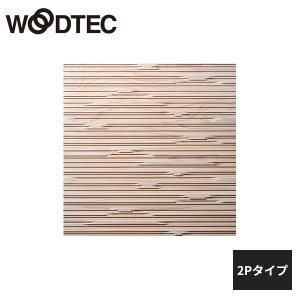 朝日ウッドテック クールジャパン スクエアタイプ ストレート・デコラ 杉 ホワイト 2Pタイプ 1枚...