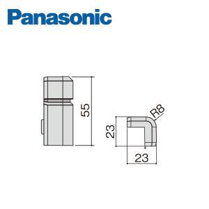 パナソニック コーナーキャップ出隅 幅木9型用 10個入 QPE119ADY Panasonic