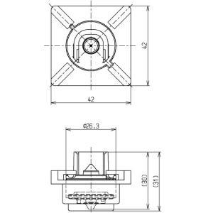 TOTO ダイヤフラム部 HH11033R 補修品