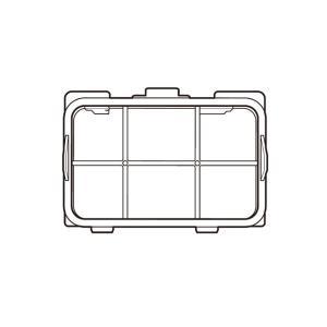 パナソニック 洗濯機 乾燥フィルター(奥) AXW2208A0XL0