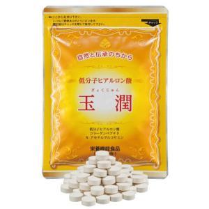 低分子ヒアルロン酸 サプリ 玉潤(ぎょくじゅん) 1袋 - ほほえみ元気クラブ|k-1ba