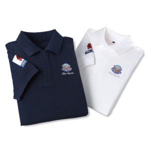 ブルーインパルス ポロシャツ 公認 絆 半袖ポロシャツ 2色組 - イーグルクラブ k-1ba