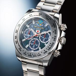 ブルーインパルス 時計 電波ソーラー クロノ 腕時計 - イーグルクラブ k-1ba