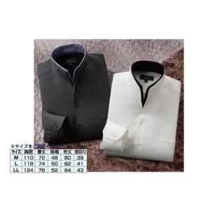 二重変化衿(長袖)ドレスシャツ 2枚組 k-1ba