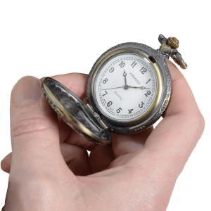 真鍮製懐中時計 - ダンディクラブ|k-1ba