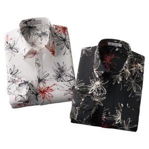 日本製京染めプリントシャツ - ダンディクラブ|k-1ba
