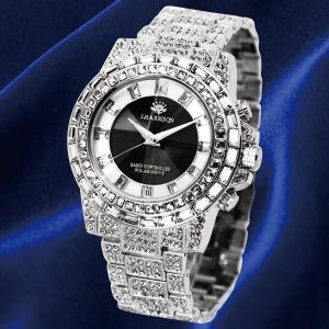 英国デザイン シャイニングソーラー時計 シルバー|k-1ba