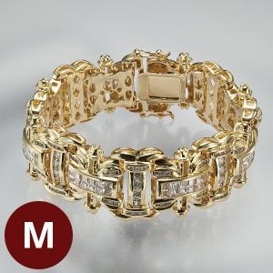 ダブルエックス金銀ブレス M ゴールド|k-1ba