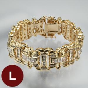 ダブルエックス金銀ブレス L ゴールド|k-1ba