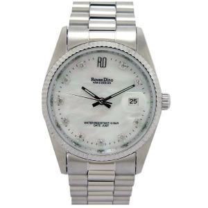 フランスブランド 天然ダイヤモンド時計 シルバー|k-1ba