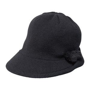 日本製 耳まですっぽりニット帽子 - エレガントクラブ シークレットエレガンス|k-1ba
