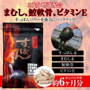 強力すっぽんプラス 6袋 約6ヶ月分 ビタミンE 活力 - 宝力本舗 k-1ba
