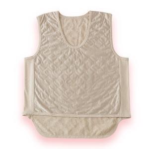 吸湿発熱繊維 保温ベスト 2枚組 - 東京山海堂 k-1ba