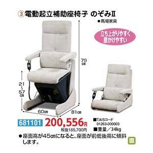 昇降座いす 電動起立補助座椅子 のぞみII - 東京山海堂|k-1ba