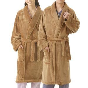 毛布のような暖かガウン キャメル 1枚 - 東京山海堂 k-1ba