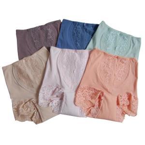 尿もれショーツ 吸水ショーツ 軽失禁 尿漏れ パンツ 女性 用安心吸水 一分丈ショーツ 軽 6色組|k-1ba
