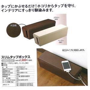 電材 スリムタップボックス - 熟年時代社 ペガサス ショップ|k-1ba