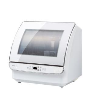 1度に24点洗えるAQUA アクアの食洗機。庫内は汚れがつきにくく耐久性に優れたステンレス素材を採用...