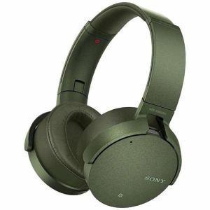 ソニー MDRXB950N1GM Bluetooth対応ノイズキャンセリング搭載 ワイヤレスステレオヘッドセット(グリーン) - 熟年時代社 ペガサス ショップ|k-1ba