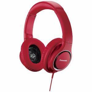 パナソニック ハイレゾ音源対応 ヘッドホン(レッド) RP-HD5-R - 熟年時代社 ペガサス ショップ|k-1ba
