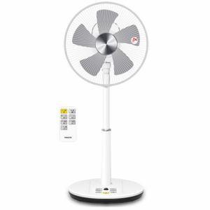 山善 冷風機 扇風機 ヤマゼン YLRX-BKD303-W DCリビング扇風機 - 熟年時代社 ペガサス ショップ|k-1ba