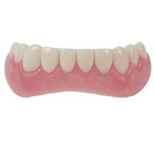インスタントスマイル下パーツ 付け歯/歯並び/歯の悩み/義歯/欠け歯/歯 着色 : 熟年時代|k-1ba