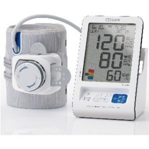 病院で測るように、上腕に正しく腕帯を取り付けられるため締め付ける圧力が一定となり、正しい測定ができる...