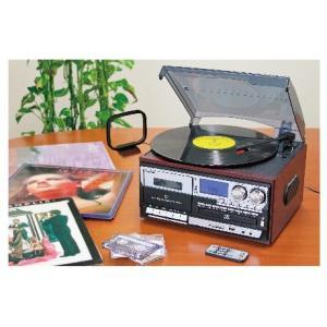 マルチオーディオ 簡単マルチオーディオ レコード ラジオ CD カセット SD/USBメモリ 外部入力 - 熟年時代 熟年時代社|k-1ba