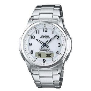 腕時計 カシオ電波ソーラー腕時計 LEDライト カレンダー アラーム タイマー 世界時計 - 熟年時代社 ペガサス ショップ|k-1ba