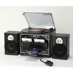 ダブルカセットマルチプレーヤー CD レコード ダビング - 熟年時代社 ペガサス ショップ k-1ba
