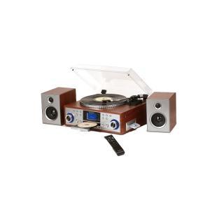 思い出のレコードを忠実に再現するピッチコントロール付き  レコードに刻まれた本当のアナログ音を忠実に...