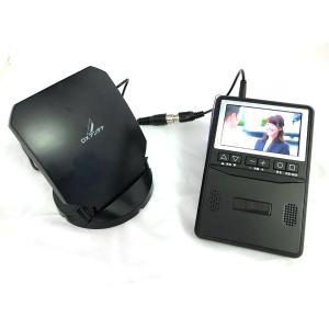 ポケットに入るテレビ付ラジオ 専用室内アンテナセット 便利なテレビ付きラジオ AM FM ワンセグTV 電池 屋外 持ち運び 防災 - 熟年時代|k-1ba