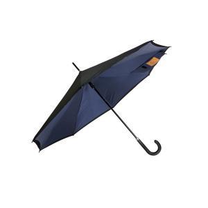 逆さ傘 メンズ 紺色 ネイビー 壊れにくい 濡れずに便利な逆さ傘 - 熟年時代社 ペガサス ショップ|k-1ba