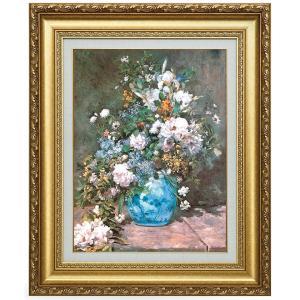 ルノワール 春の花 立体複製名画 美術品 レプリカ - アートの友社|k-1ba