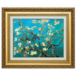 ゴッホ 花咲くアーモンドの枝 立体複製名画 美術品 レプリカ - アートの友社|k-1ba