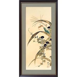 酒井抱一「十二か月花鳥図」複製掛軸コレクション 大胆な構図にして優美、風雅な芸術世界を築き上げた酒井...