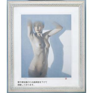 朝のトルソ 高塚省吾 (原画制作年 1991年) リトグラフ 額付き - アートの友社 k-1ba