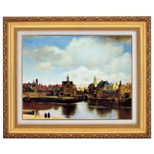 フェルメール デルフトの眺望 F10号 立体複製名画 美術品 レプリカ - アートの友社|k-1ba