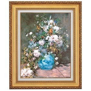 ルノワール 春の花 F10号 立体複製名画 美術品 レプリカ - アートの友社|k-1ba