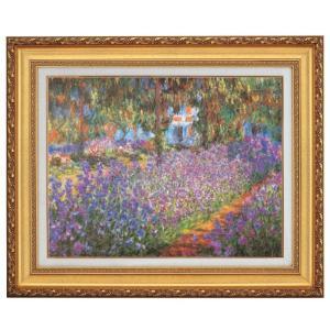 モネ ジヴェルニーのモネの庭 F10号 立体複製名画 美術品 レプリカ - アートの友社|k-1ba