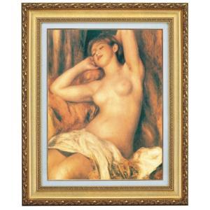 ルノワール 眠る裸婦 F10号 立体複製名画 美術品 レプリカ - アートの友社|k-1ba