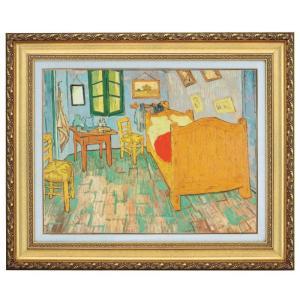 立体複製名画 ゴッホ「ゴッホの寝室」F10号 - アートの友社|k-1ba