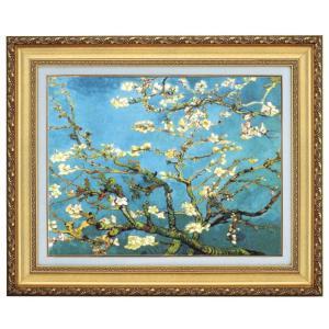 ゴッホ 花咲くアーモンドの枝 F10号 立体複製名画 美術品 レプリカ - アートの友社|k-1ba