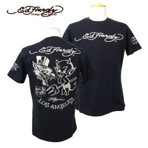 sale 30%OFF Ed Hardy【エドハーディー】 メンズ ベイビーデビル半袖Tシャツ|k-2climb