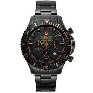 ギオネ 腕時計 ハイドロマスター プロダイバー クロノグラフ HM44BBKH