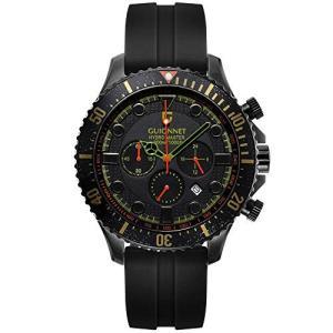 ギオネ 腕時計 ハイドロマスター プロダイバー クロノグラフ HM44BBKHRB